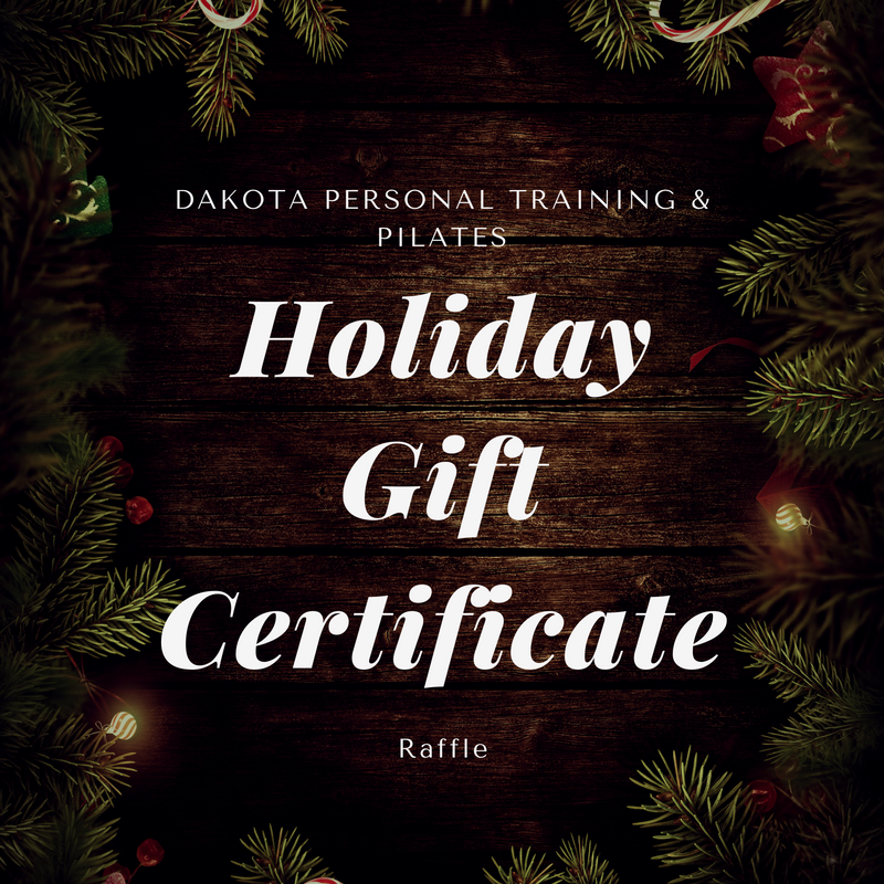 Dakota holiday gift certificate